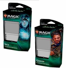 War of the Spark Planeswalker Deck Set of Two