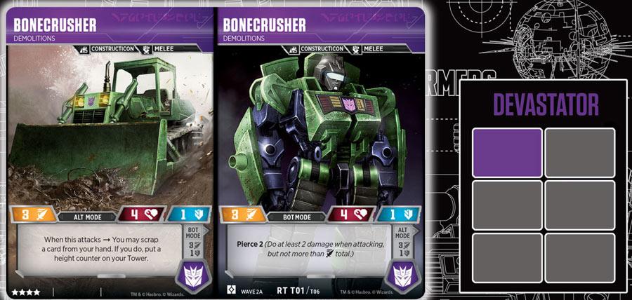 Bonecrusher - Demolitions (Wave 2A - Devastator)