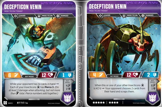 Decepticon Venin // Insecticon Tyrant
