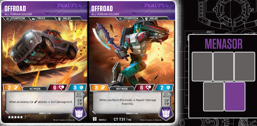 Wave 2 Rise of the Combiners Transformers TCG: Dreadwind Air Defense Mint//NM