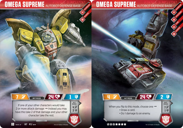 Omega Supreme // Autobot Defense Base (Wave 2P // Loot Crate)