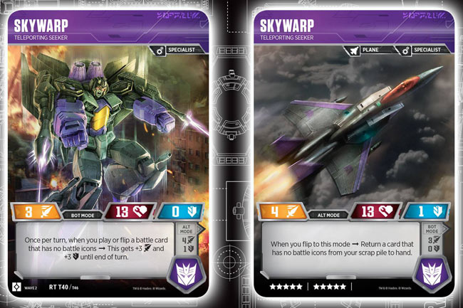 Skywarp // Teleporting Seeker