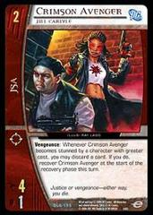 Crimson Avenger, Jill Carlyle - Foil