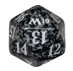 Magic Spindown Die - Core Set 2019 - Black