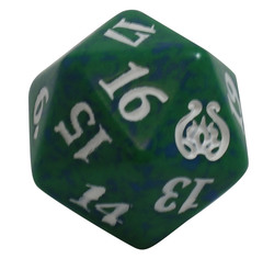 Magic Spindown Die - Aether Revolt - Green