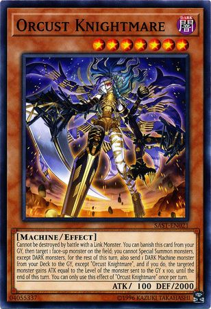 Orcust Knightmare - SAST-EN021 - Common - Unlimited Edition