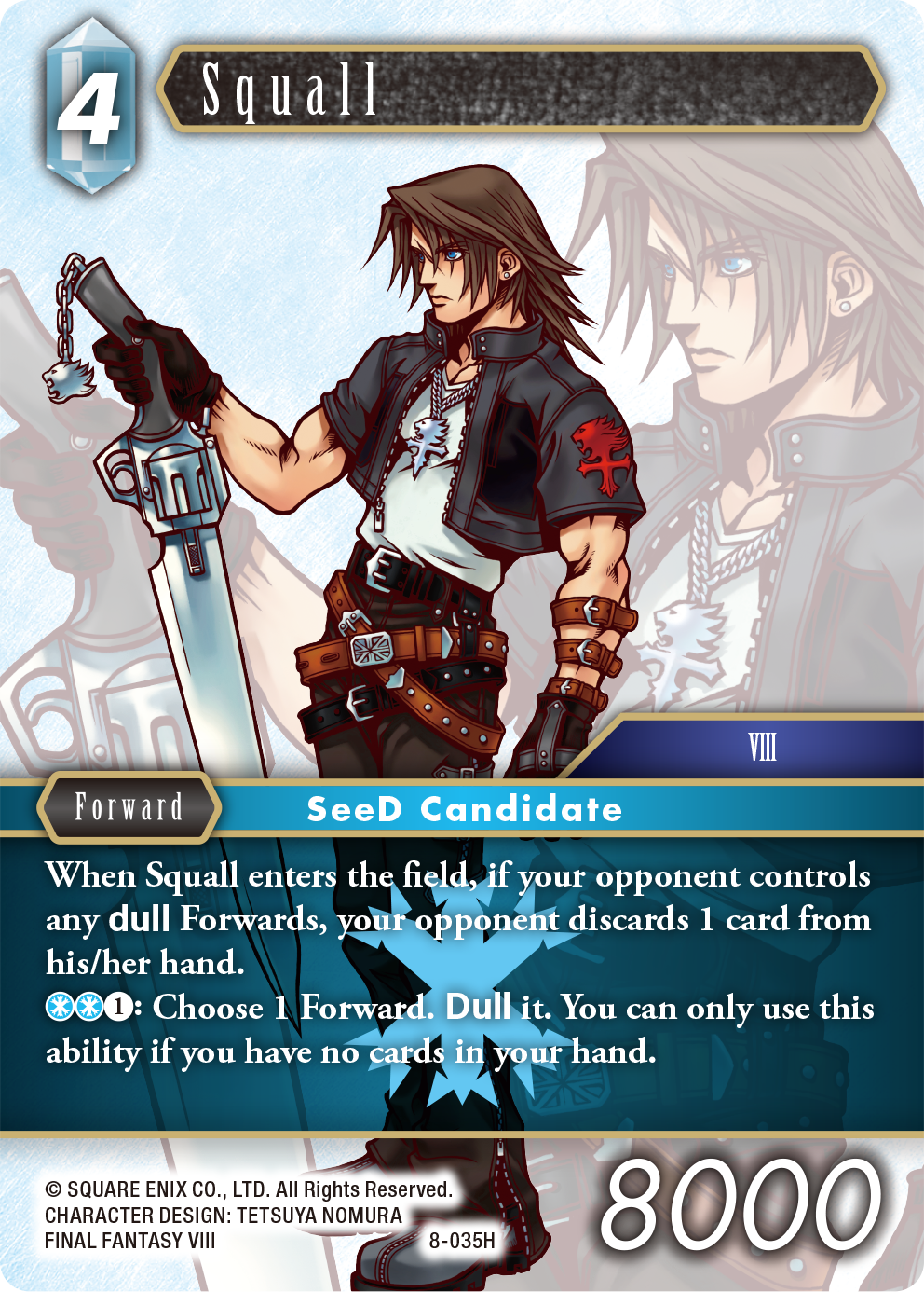 Squall - 8-035H