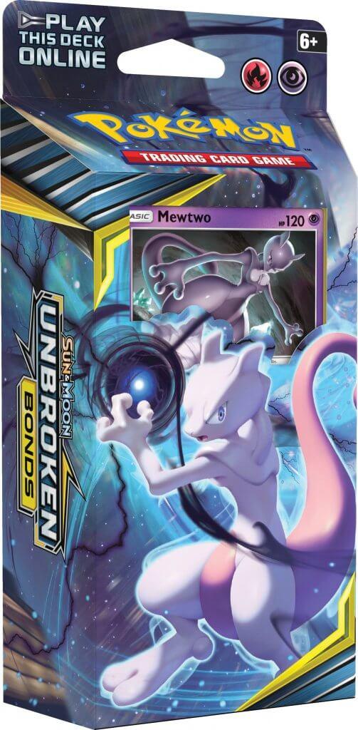 Sun & Moon - Unbroken Bonds - Mewtwo Theme Deck