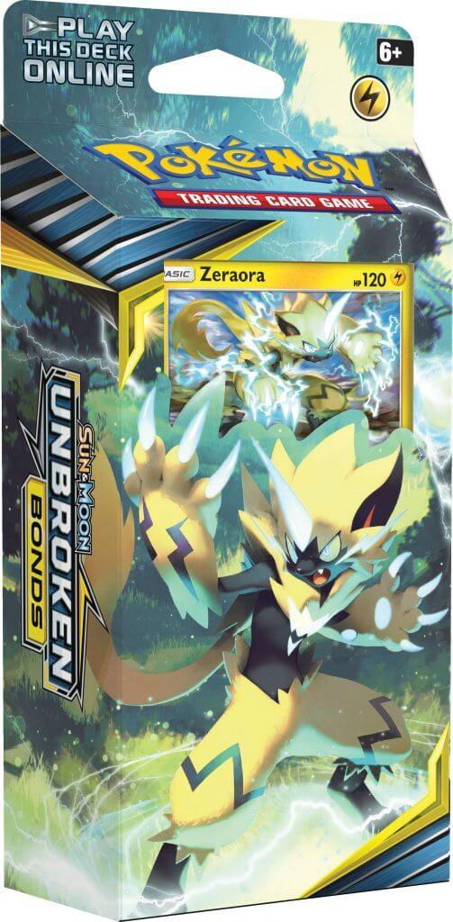 Sun & Moon - Unbroken Bonds - Zeraora Lightning Loop Theme Deck
