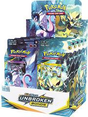 Sun & Moon - Unbroken Bonds Theme Deck Display