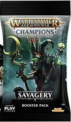 Warhammer Age of Sigmar: Champions - Savagery Booster Pack