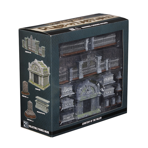 Pathfinder Battles Miniatures: Ruins of Lastwall - Cemetery of the Fallen - Premium Set
