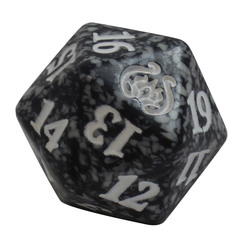 Magic Spindown Die - Aether Revolt - Black