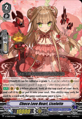 Choco Love Heart, Liselotte - V-TD08/003EN (Regular)