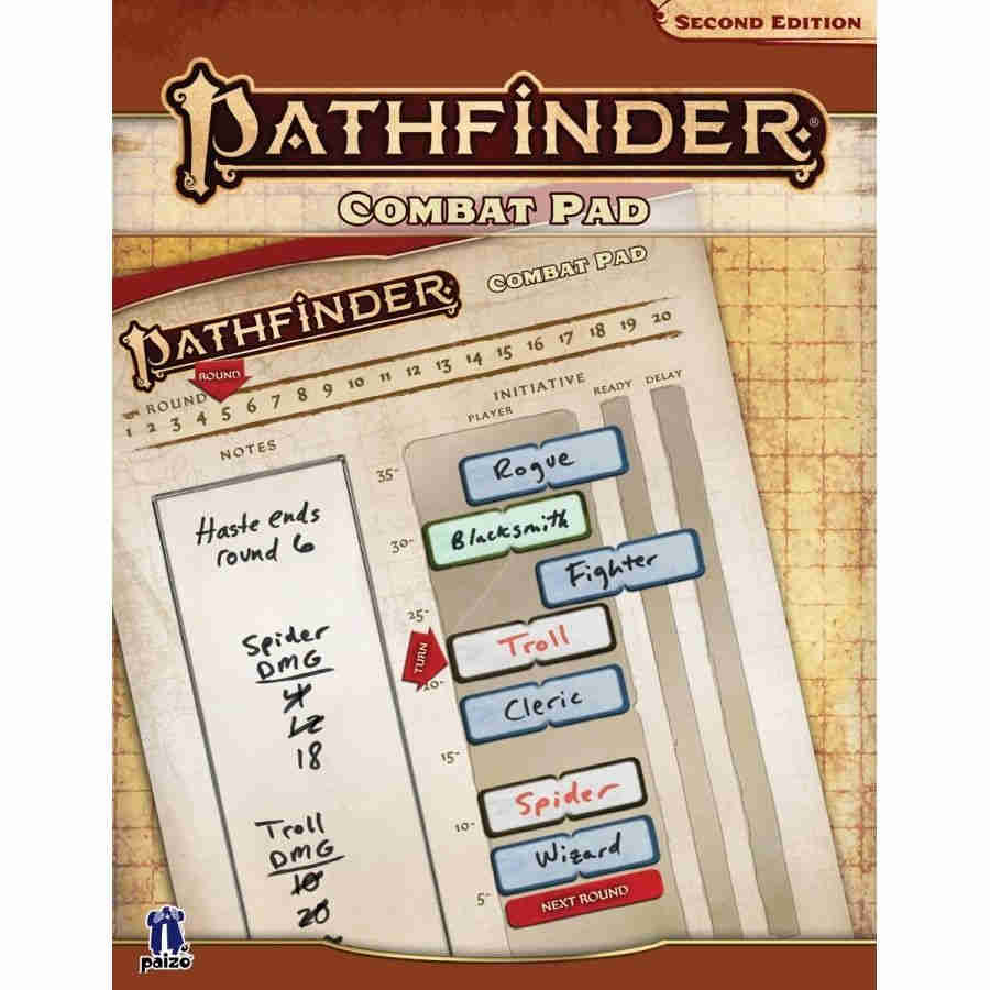 Pathfinder RPG Second Edition: Combat Pad