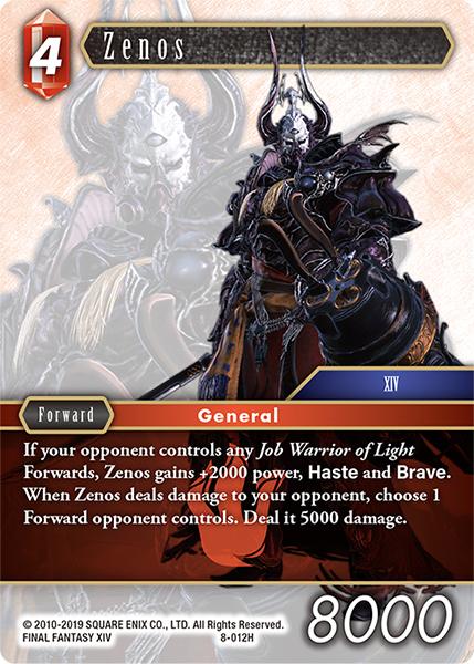 Zenos - 8-012H