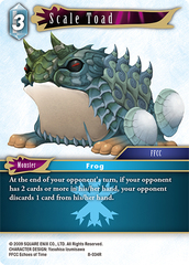 Scale Toad - 8-034R - Foil