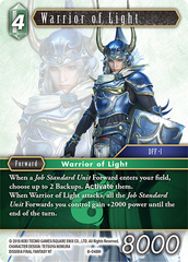 Warrior of Light - 8-048H