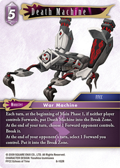 Death Machine - 8-102R - Foil