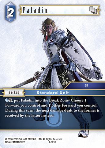 Steiner Hero NM Opus VIII 8-118H Final Fantasy TCG