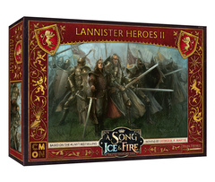 A Song of Ice & Fire - Tabletop Miniatures Game - Lannister Heroes II