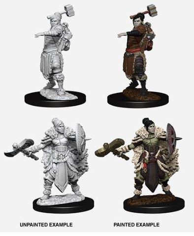 Nolzurs Marvelous Miniatures - Female Half-Orc Barbarian
