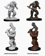 Nolzur's Marvelous Miniatures - Wereboar & Werebear