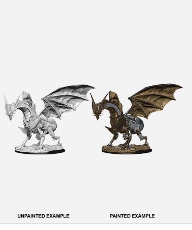 Pathfinder Battles Unpainted Minis - Clockwork Dragon
