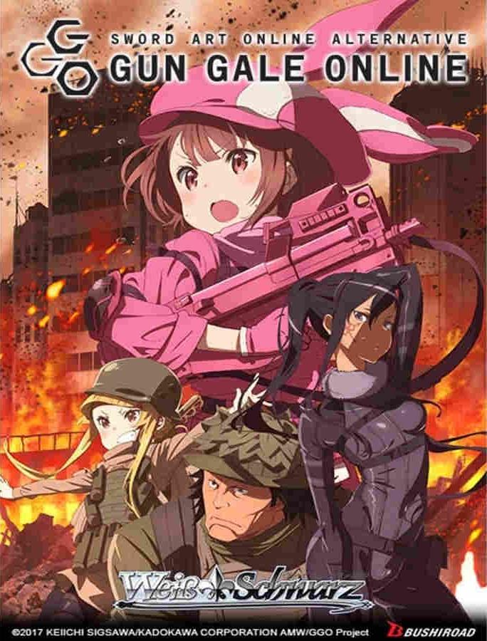 Sword Art Online Alternative: Gun Gale Online Booster Pack