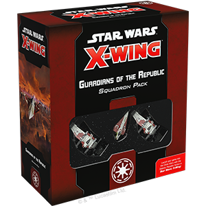 Star Wars X-Wing - Second Edition - Guardians of the Republic Squadron Pack