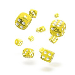 Oakie Doakie Dice - D6 Translucent Yellow 12mm Set of 36 (ODD400012)