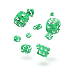Oakie Doakie Dice - D6 Speckled Green 12mm Set of 36 (ODD400016)