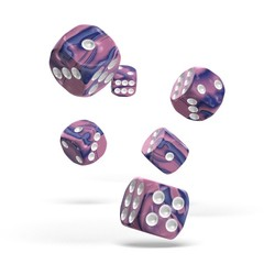 Oakie Doakie Dice - D6 Gemidice Venus 16mm Set of 12 (ODD410038)