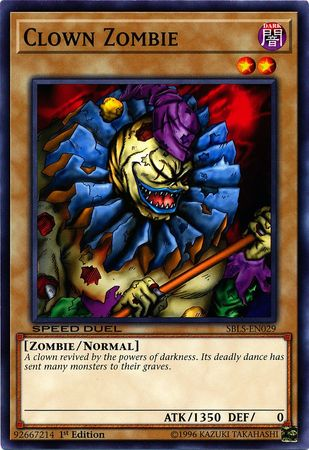 Clown Zombie - SBLS-EN029 - Common - 1st Edition