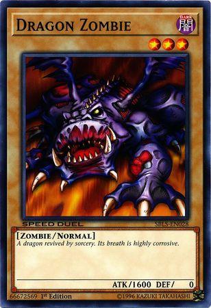 Dragon Zombie - SBLS-EN028 - Common - 1st Edition