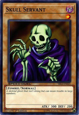 Skull Servant - SBLS-EN025 - Common - 1st Edition