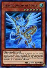 Hieratic Dragon of Tefnuit - DUPO-EN080 - Ultra Rare - 1st Edition