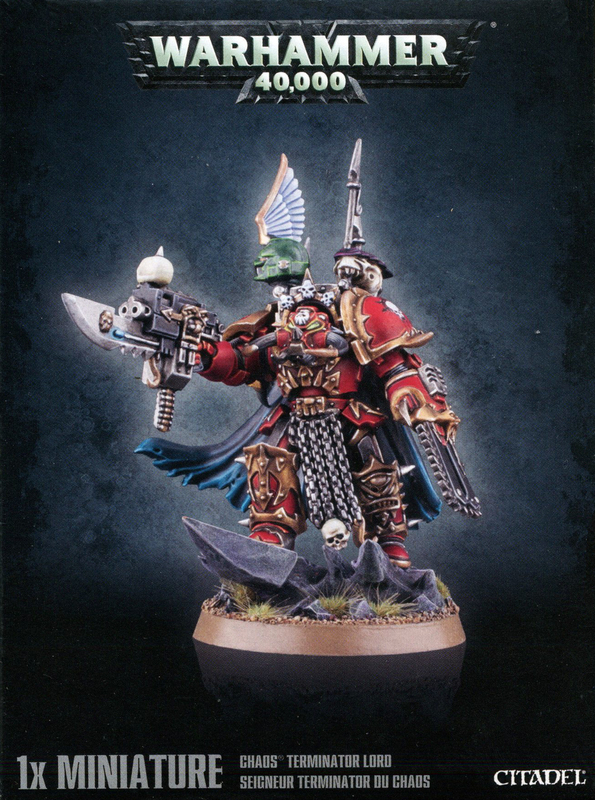 Chaos Space Marines: Chaos Terminator Lord