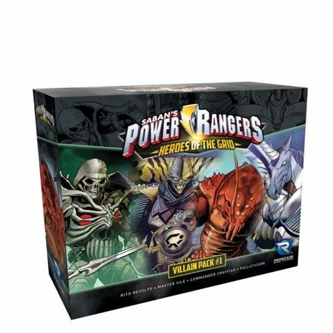 Power Rangers: Heroes of the Grid - Villain Pack #1