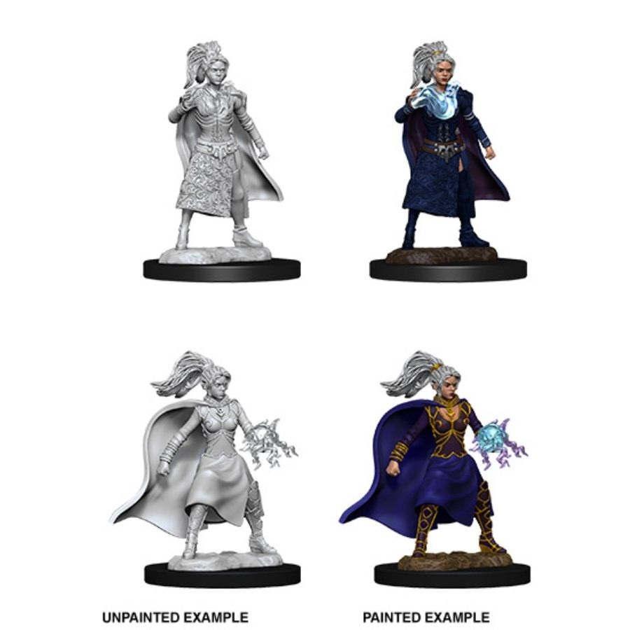 Nolzurs Marvelous Miniatures - Female Human Sorcerer