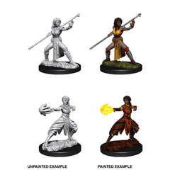 Nolzur's Marvelous Unpainted Minis - Female Half-Elf Monk