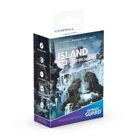 Ultimate Guard: Standard Lands Edition II Island (Box of 100)