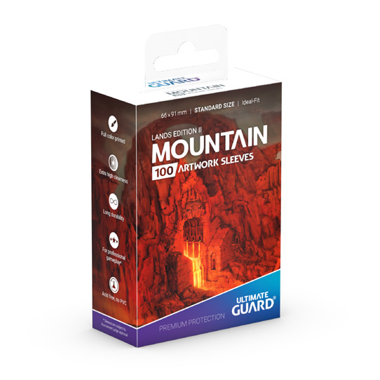 Ultimate Guard - Deck Protector Lands Edition II Mountain