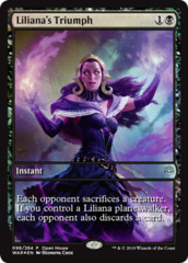 Liliana's Triumph - War of the Spark Foil