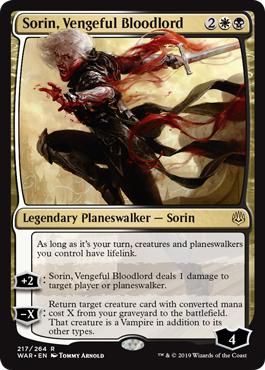 Sorin, Vengeful Bloodlord
