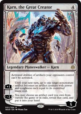 Karn, the Great Creator - Foil