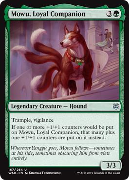 Mowu, Loyal Companion - Foil