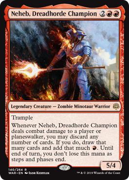 Neheb, Dreadhorde Champion - Foil