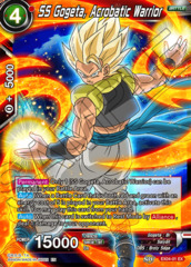 SS Gogeta, Acrobatic Warrior - EX04-01 - EX - Foil on Channel Fireball