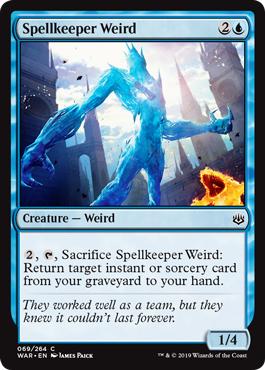 Spellkeeper Weird - Foil